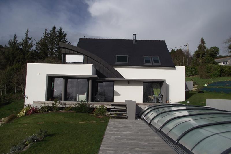 Cabinet jan conception maitrise d 39 oeuvre maisons for Maison semi contemporaine